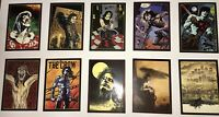 1996 The Crow City of Angels Trading Cards Set Legend of the Crow 1-10 MINT Cond