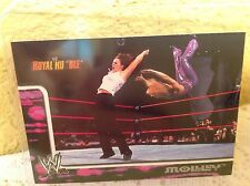WWE MOLLY HOLLY RUMBLE 2002 FLEER COLLECTOR TRADING CARD #20 & HOLDER