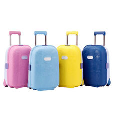 Kids Travel Luggage Suitcase Trolley Cabin Hard Lightweight 1.9Kg