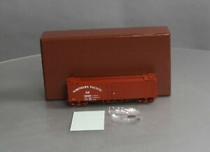 W & R HO BRASS Northern Pacific Company Ice Car Version 9 Mineral Red EX/Box