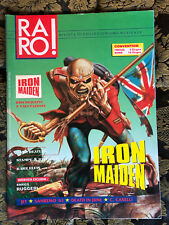RARO! 15  Magazine about discography ps IRON MAIDEN Beatles Elvis Death in June