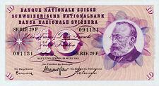 Switzerland / Schweiz / Suisse P-45h 10 francs 1963 UNC