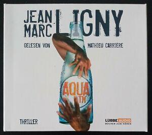 "Hörbuch / Hörbücher "" Aqua TM "" Jean Marc Ligny   8 CD"
