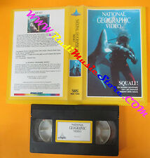 VHS film SQUALI!1982 NATIONAL GEOGRAPHIC VIDEO starlight NGH 1002 (F3) no dvd