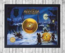 AVANTASIA MYSTERY OF TIME CUADRO CON GOLD O PLATINUM CD EDICION LIMITADA. FRAMED