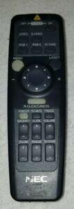 ORIGINAL NEC RD-355E 79645911 Projector Remote Control ++FREE SHIP!