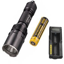 Nitecore TM03 CREE XHP70 LED 2800 Lumens 18650 Tactical Flashlight +UM10 Charger