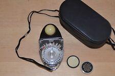 Sekonic Studio S Ambient light Exposure Meter  w/ screens Photodisk Case Japan