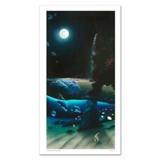 """Wyland """"Island Paradise"""" Signed Canvas Limited Edition Art COA"""