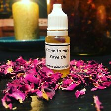 Magickal Love Spell Oil Come to me with intention witchcraft hoodoo voodoo