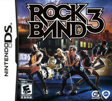 Rock Band 3 NDS New Nintendo DS