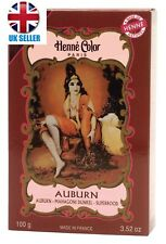 Henne Color Henna Powder Auburn 100gm PACK OF 3