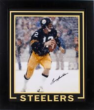 "Terry Bradshaw Signed 23.5x27.5"" Custom Framed 16x20 Photo  JSA-Witnessed COA"