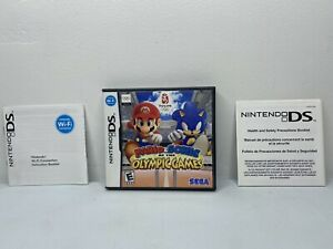 Mario & Sonic at the Olympic Games Case & Inserts ONLY Nintendo DS