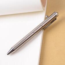 Titanium TC4 Pull Bolt Type Self Defense Tactical Pen EDC Outdoor Survival Tool