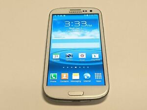 Samsung Galaxy SIII SCH-i535 Verizon 16GB White Android Smartphone/Cell Phone