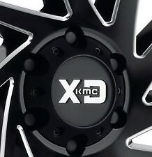 KMC XD 834 Cyclone Satin Black 6x139.7 Center Cap Fits 6x139.7 (6x5.5)  Wheels
