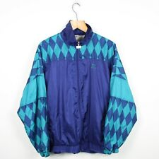 Vintage 90s WAVEY Full Zip Soft Shell Jacket | Retro Abstract Festival | Large L