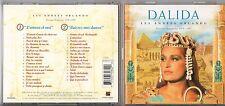 DALIDA 2 CD LES ANNEES ORLANDO 1970 1997 fuori catalogo