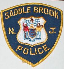 Very Old SADDLE BROOK POLICE New Jersey NJ PD Vintage patch