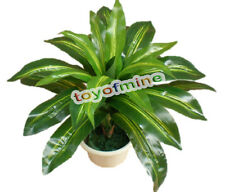 Brazil Tree 24 Leaves Lifelike Artificial Plants Tree Home Decor(Real touch)Bush