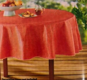 PEVA Tablecloth Coral Mainstays Chloride Free CHOOSE A SIZE