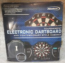 Electronic Tournament Dartboard with Contemporary Style Cabinet