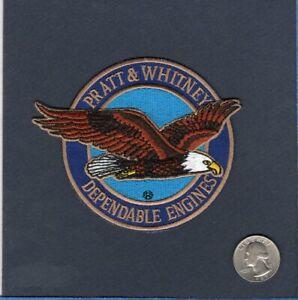 P&W Pratt & Whitney Aircraft Engines US NAVY USMC USAF ARMY Squadron Patch