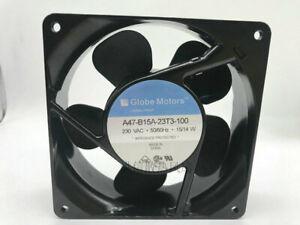 1pcs   Globe Motors A47-B15A-23T3-100 12CM 230V 15/14W cooling fan