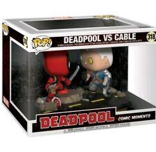Funko - POP Marvel: Comic Moments - Deadpool vs. Cable Brand New In Box