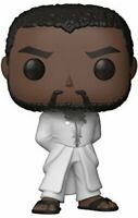 Marvel Black Panther T'Challa White Robe Pop! Vinyl Figure + Pop Protector