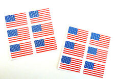 Mini Sticker Pack, Self-Adhesive USA Flag Labels, FR21