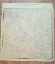 ANTIQUE Map/City of Baltimore Topog. Survey/1897- Woodberry/Druid Hill Park Area