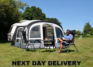 Put Up Once Only Kampa Pop Air Inflatable Pro 365 Eriba Caravan Porch Awning