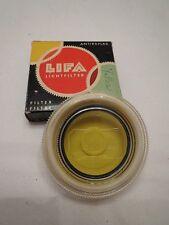 LIFA Filter Antireflex Lechtfilter V1 G2 Yellow Filter Cool Plastic Holder c16