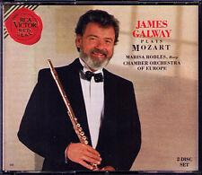 James Galway: Mozart 2 Flute Concerto una piccola notte musica k525 RONDO Harp 2cd