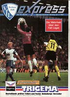 BL 90/91 VfL Bochum - Borussia Dortmund