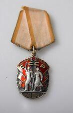 UdSSR Original Orden Zeichen der Ehre Silber  Russland Ehrenzeichen