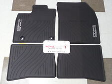 Toyota Prius Plug In 12-15 Factory All Weather Rubber Floor Mats Genuine OEM OE