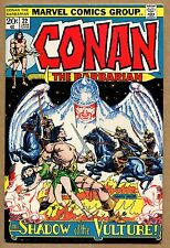 Conan The Barbarian #22 - Shadow of the Vulture - 1972 (Grade 7.0) Wh