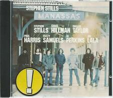STEPHEN STILLS CD: MANASSAS (WIE NEU)