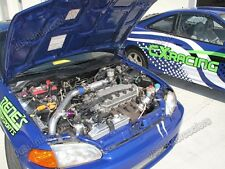 Turbo Intercooler Kit For 92-00 Civic D15 D16 D-Series SOHC Engine