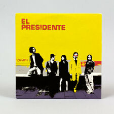 El Presidente - 100 MPH - music cd ep