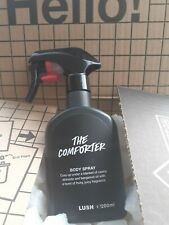 """LUSH """" THE COMFORTER """" BODY SPRAY 200ML LONG USE BY DATE  SPRAYED ONCE TO TRY ."""