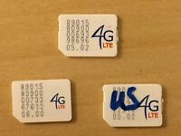 US Cellular Nano Sim cards