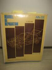 RTA MANUEL REPARATION ALFA 33 1.8TD - COMPLEMENT AU VOLUME 2 - AA377