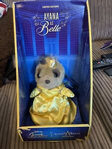 Compare the Market Meerkat Toy Ayana as Belle Disney's Beauty and the Beast COA