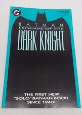 DC Comics 1989 BATMAN LEGENDS OF THE DARK KNIGHT #1 Green Variant Cover