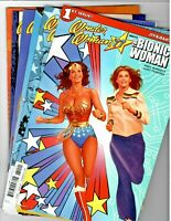 🚚 Wonder Woman'77 Meets The Bionic Woman #'s 1,2,3,4,5 & 6 Full 2017 Set in VF