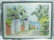 """""""Old Bermuda Gateposts"""" Limited Signed Print 375/750 Molly D. Smith"""
